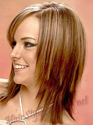 Haircut Hairstyles : Haircut Hairstyles for Medium Length Straight Hairs