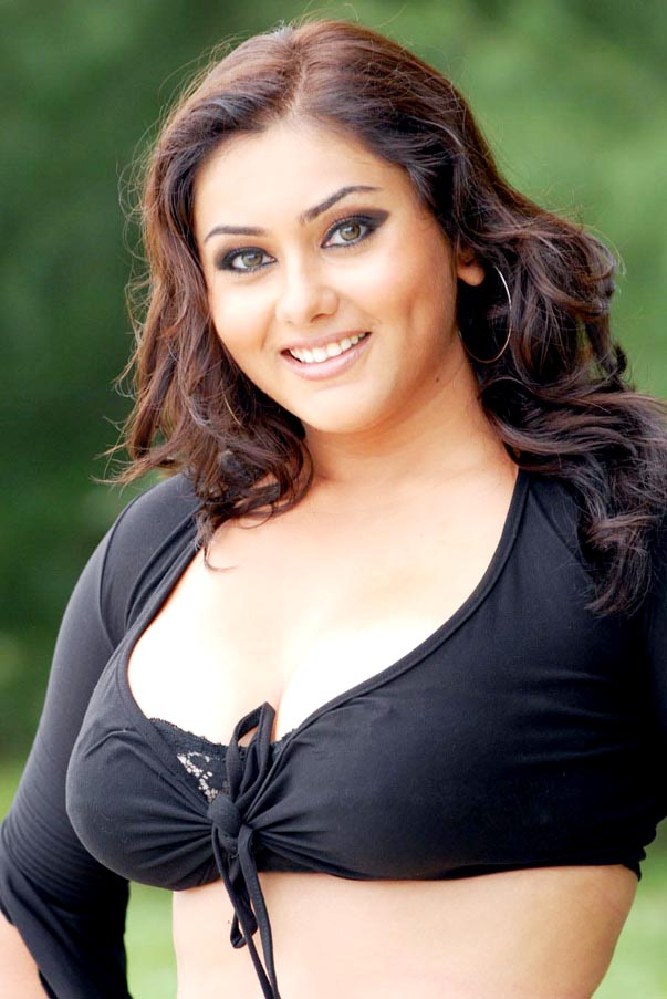 Namitha Kapoor Hairstyle – South Indian Actress Hairstyle Ideas