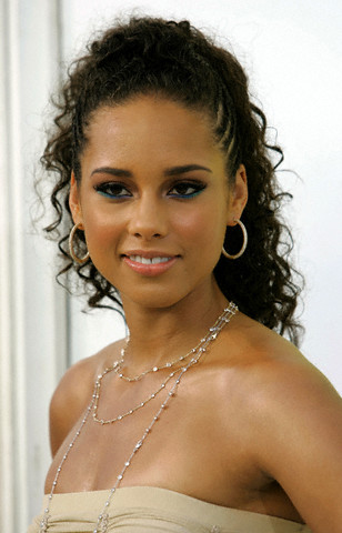 Super Pictures Of Alicia Keys Braided Hairstyles Hairstyles For Women Draintrainus
