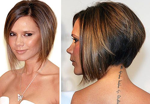 Short Bob Hairstyles Front and Back